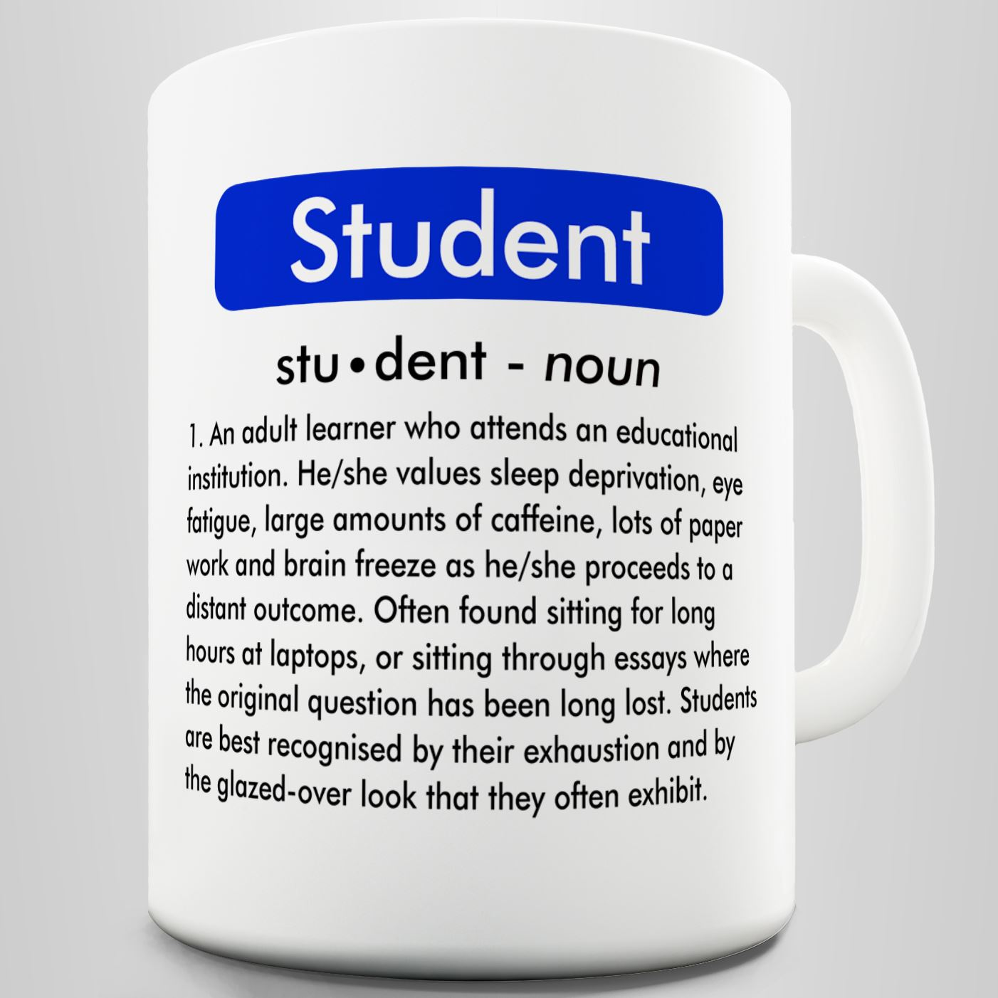 Student Definition Funny Mug Ebay-3109