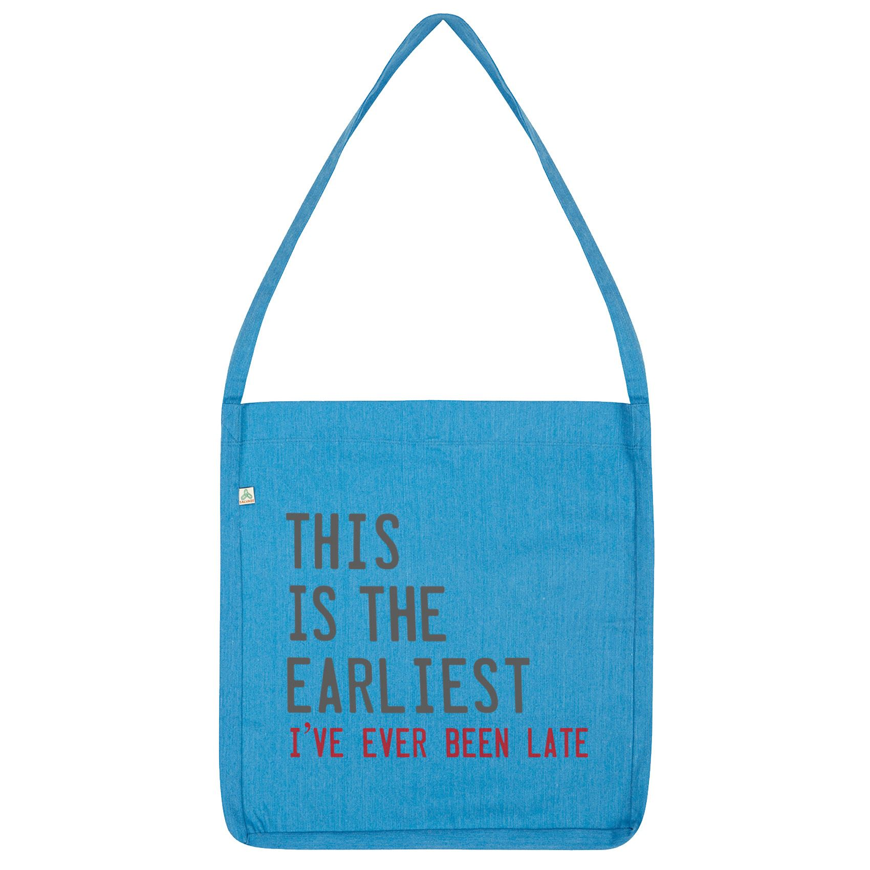 Twisted Envy Earliest I/'ve Ever Been Late Tote Bag