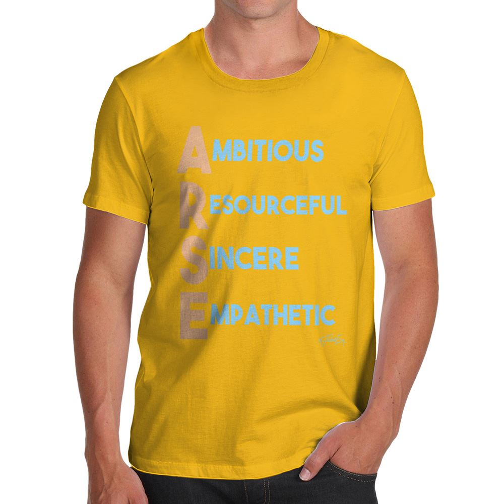 Twisted-Envy-A-se-Acrostic-Poem-Men-039-s-Funny-T-Shirt