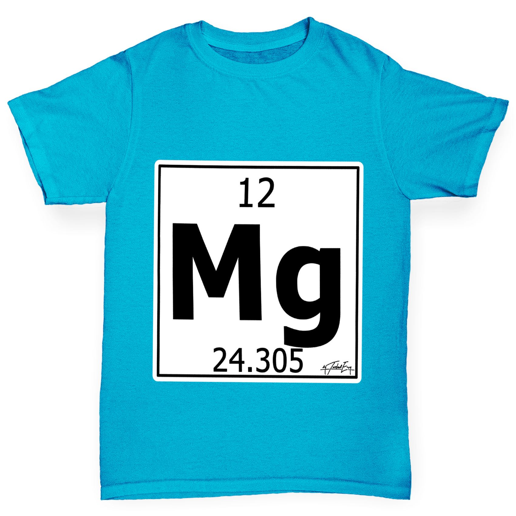 Twisted envy boys periodic table element mg magnesium t shirt ebay twisted envy boy 039 s periodic table element urtaz Image collections