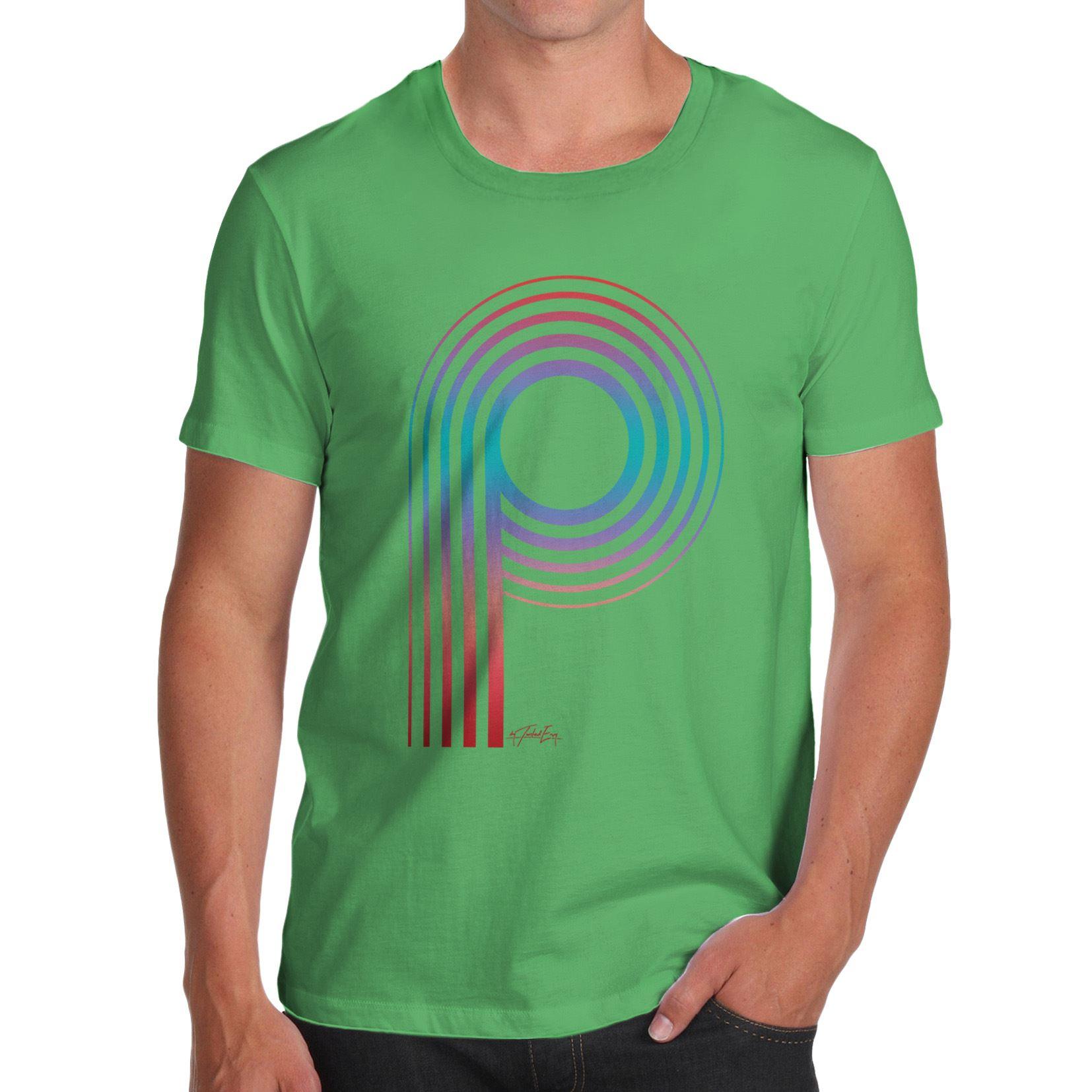 Twisted ENVY GIRL/'S Monogramma Alfabeto Lettera S T-shirt