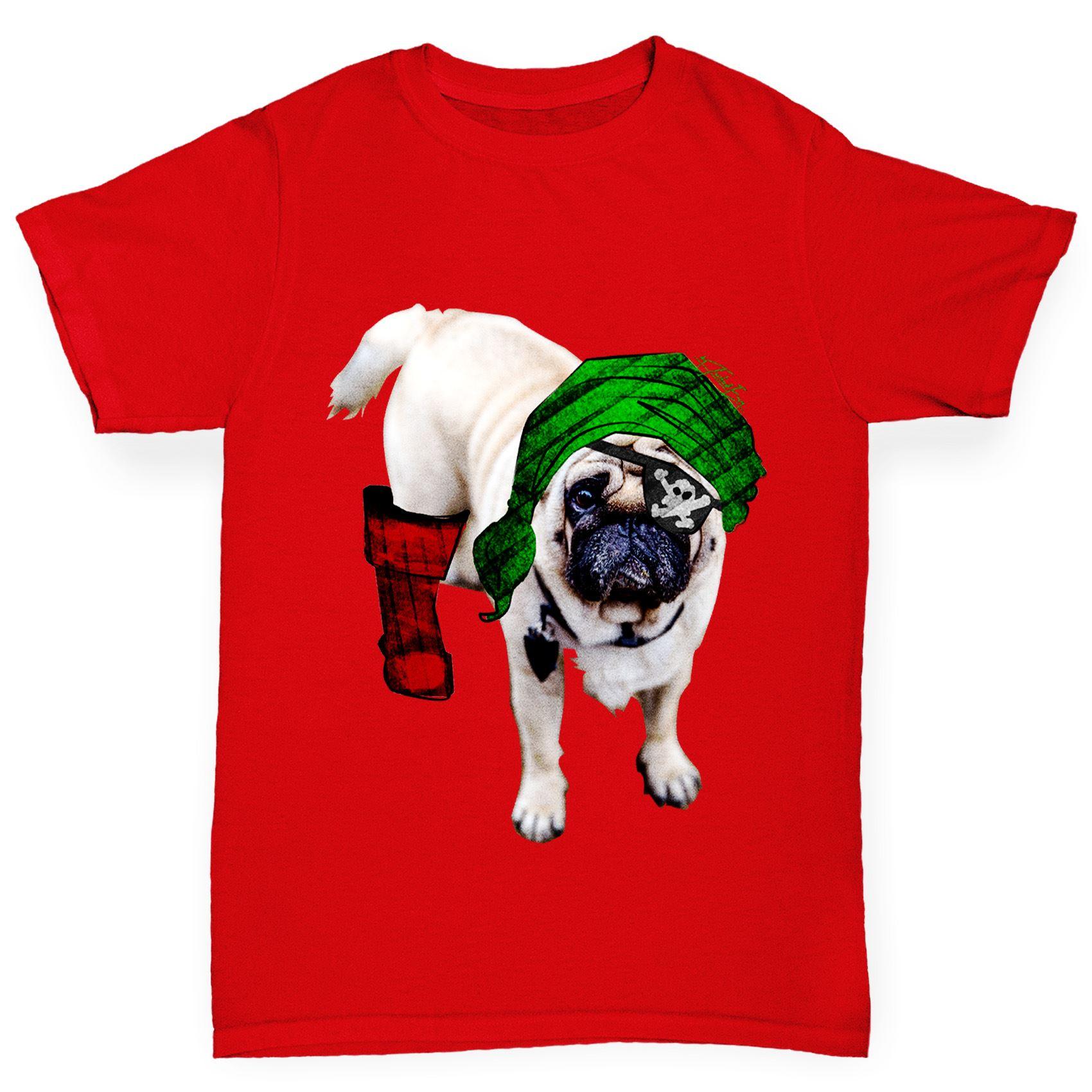 Twisted Envy Boy Borgne Pirate Carlin Premium T-shirt en coton