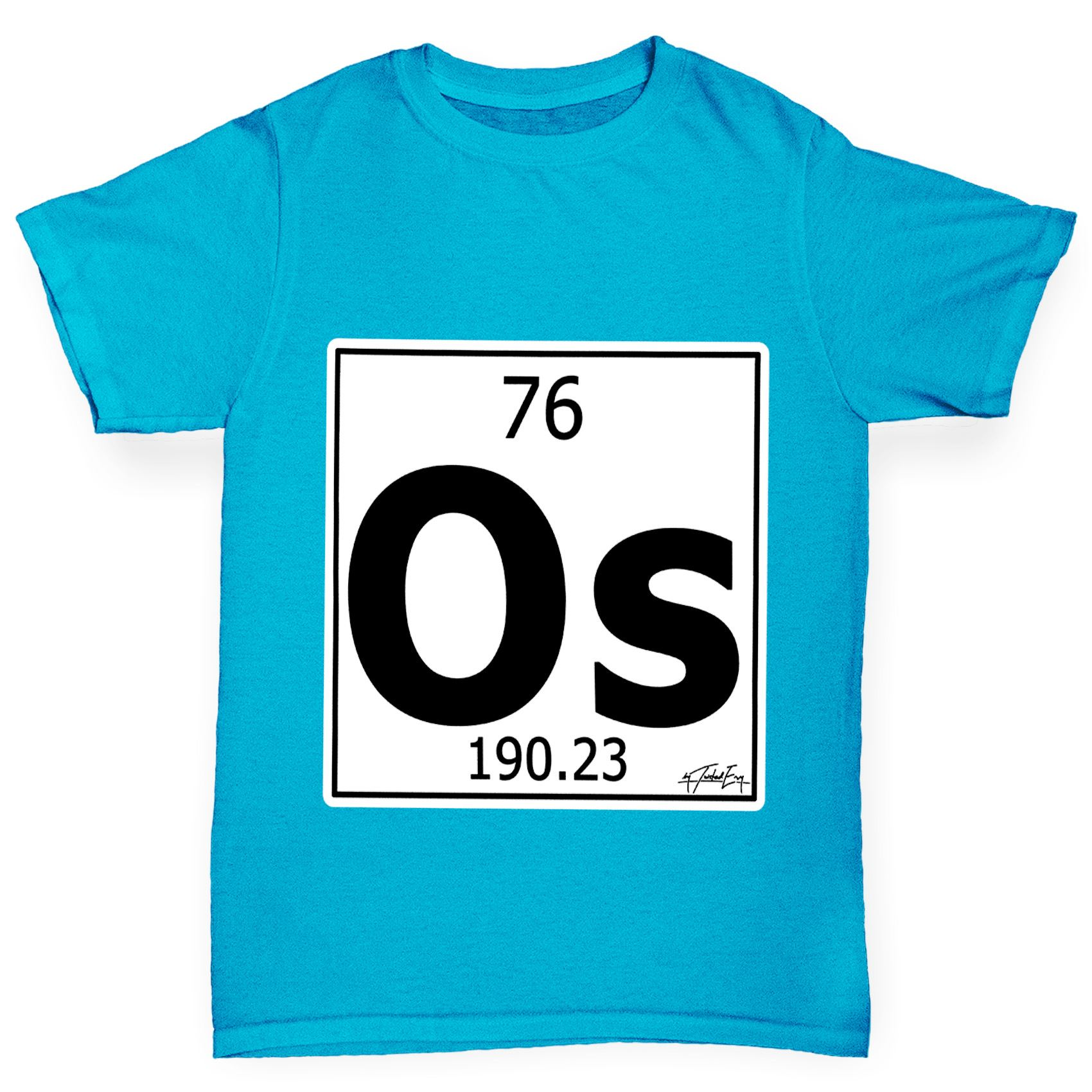 Twisted envy boys periodic table element os osmium t shirt ebay twisted envy boy 039 s periodic table element gamestrikefo Choice Image