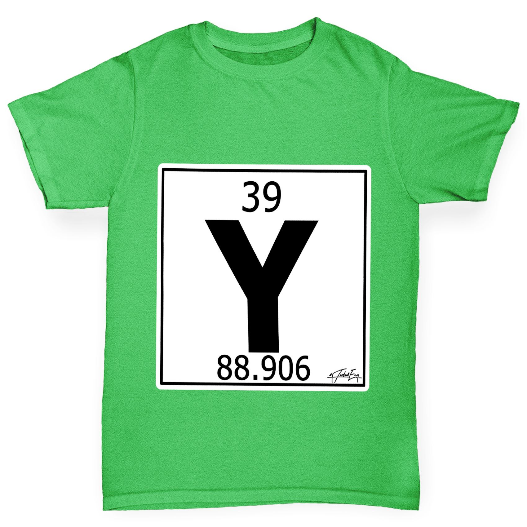 Twisted envy boys periodic table element y yttrium t shirt ebay twisted envy boy 039 s periodic table element urtaz Images