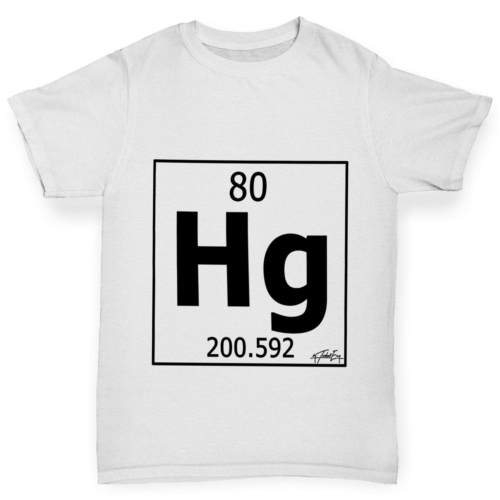 Twisted envy boys periodic table element hg mercury t shirt ebay twisted envy boy 039 s tabla periodica elemento urtaz Choice Image