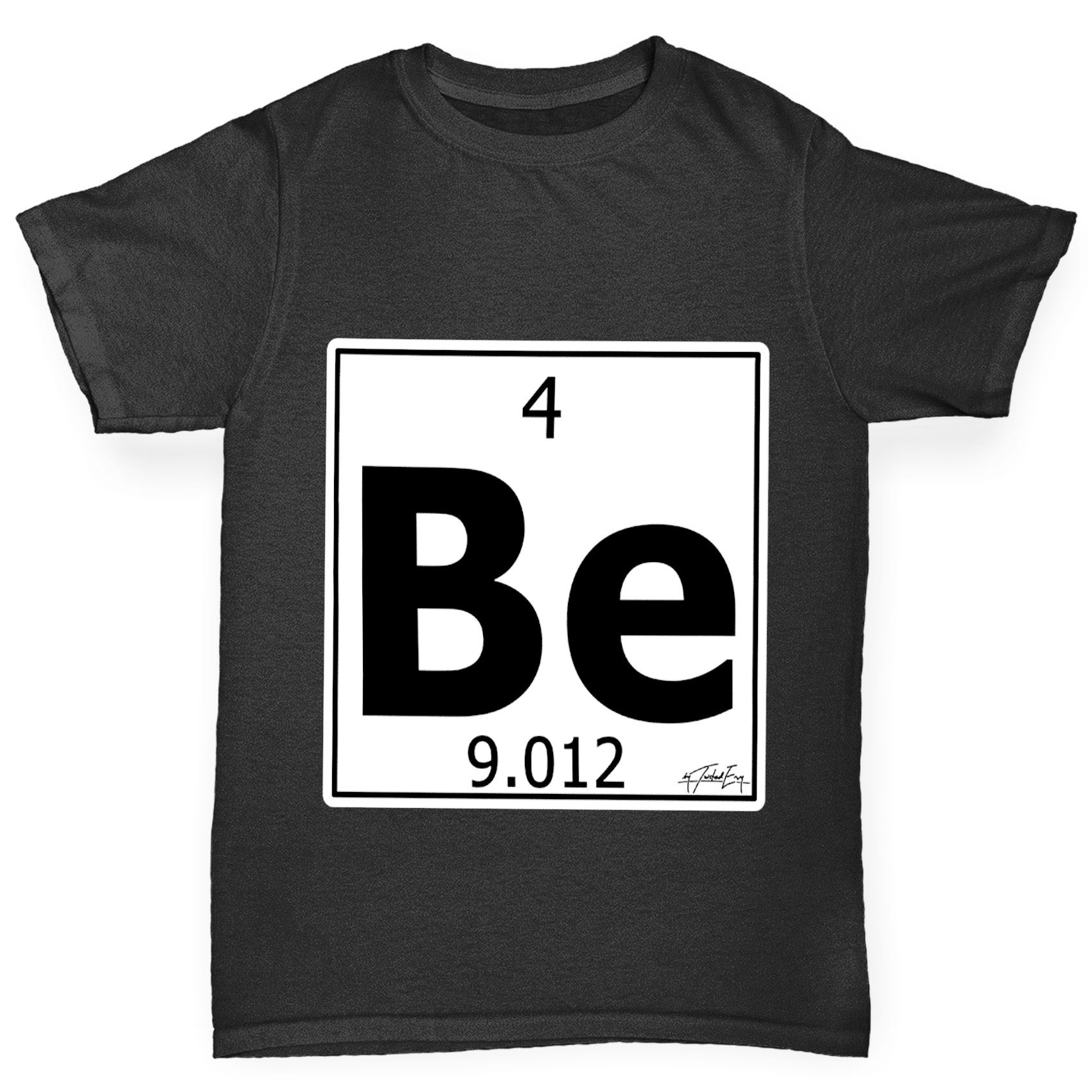 Twisted envy boys periodic table element be beryllium t shirt ebay twisted envy chicos elemento de tabla periodica se urtaz Image collections