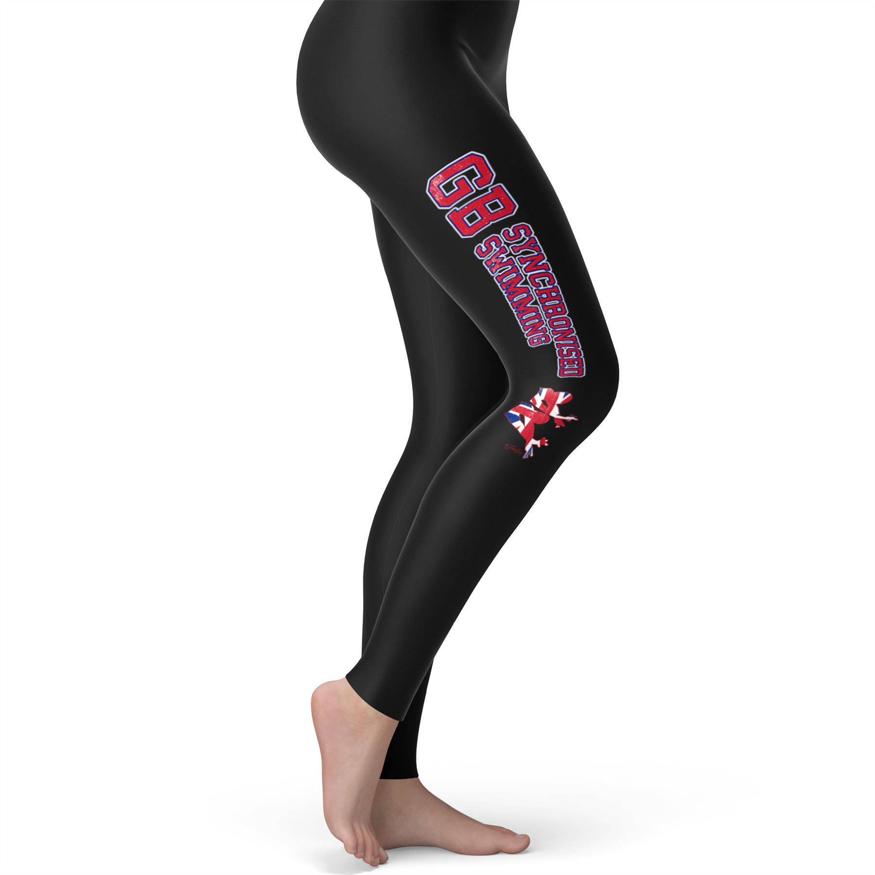 Twisted-Envy-GB-Synchronised-Swimming-Women-039-s-Funny-Leggings