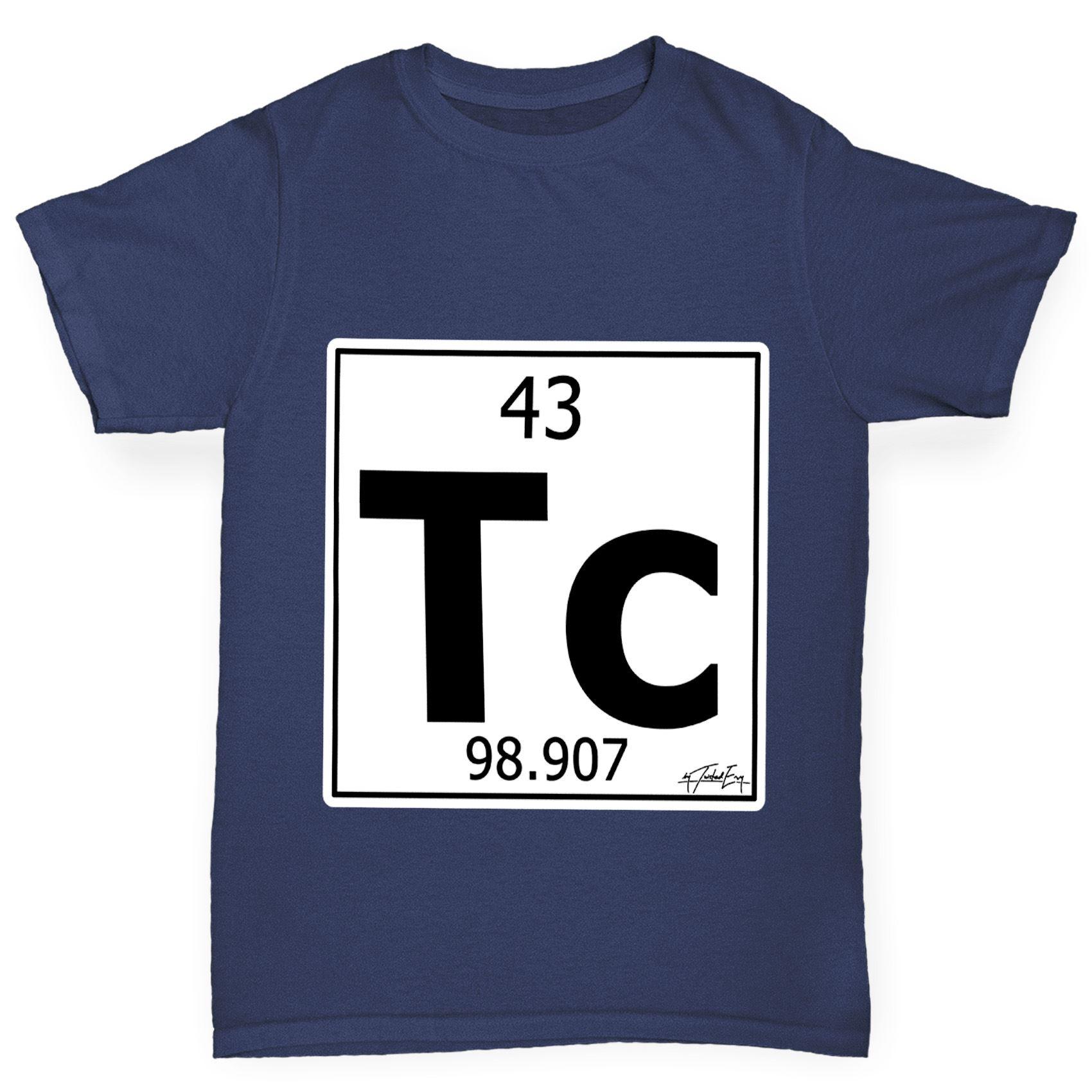 Twisted envy boys periodic table element tc technetium t shirt ebay twisted envy boy 039 s periodic table element urtaz Images