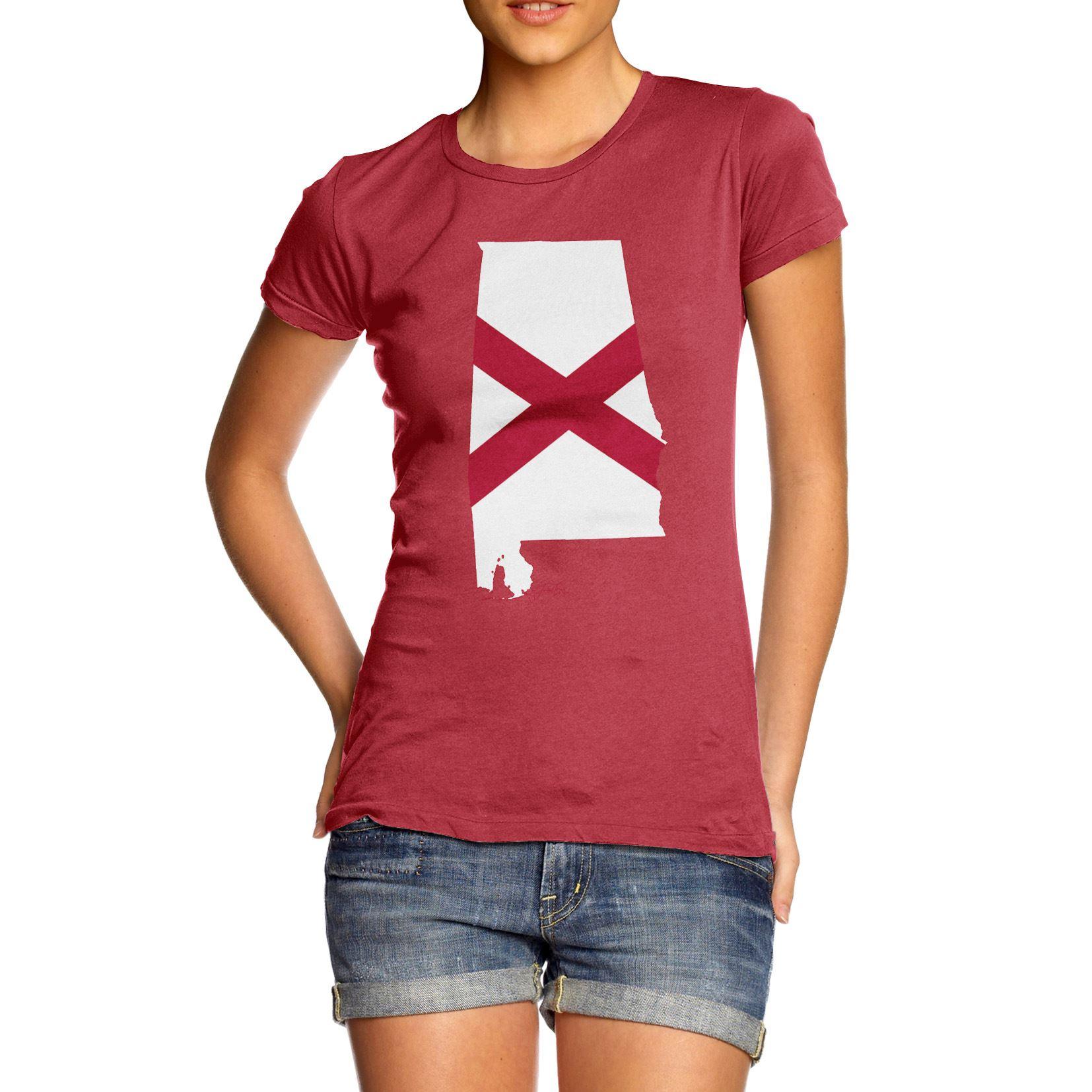 Twisted Envy Mens Michigan USA State Flag Premium Cotton T-Shirt
