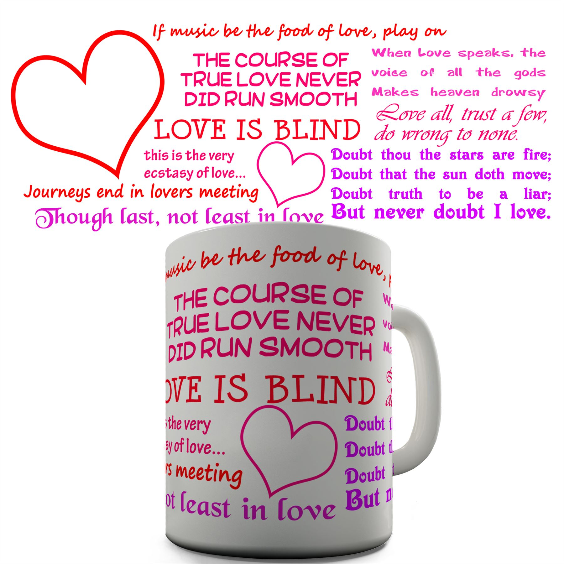 Details About Shakespeare Quotes Funny Mug