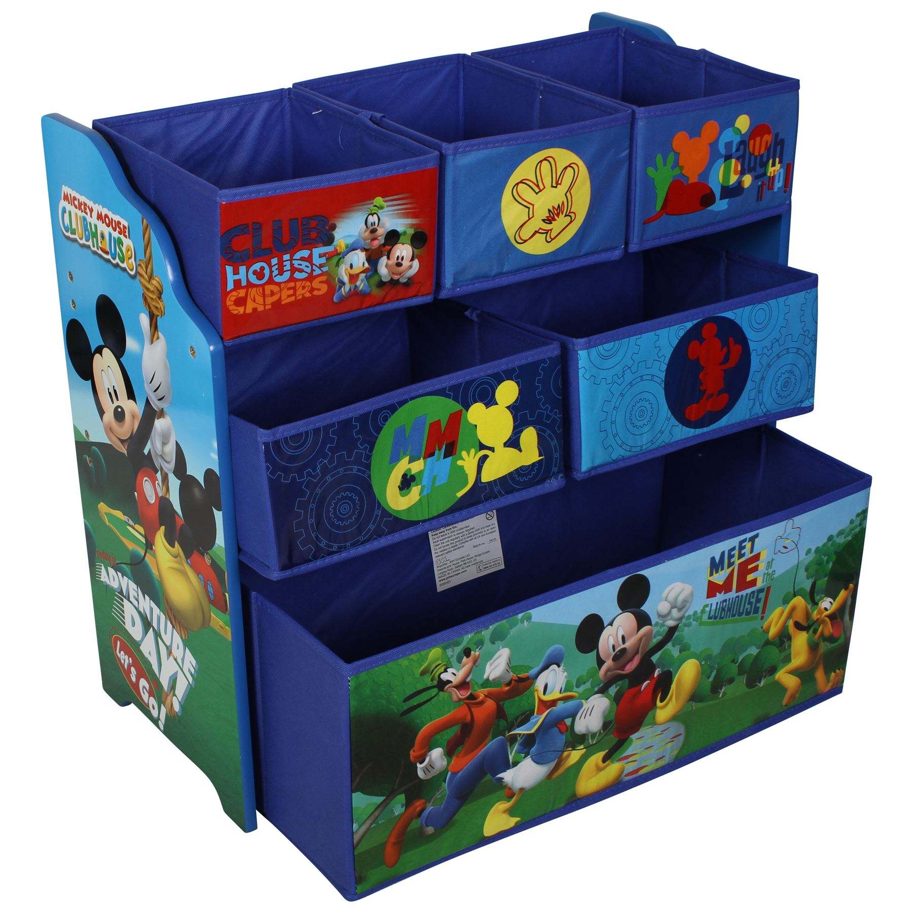 Disney Mickey Mouse Wooden Bedroom & Playroom Furniture