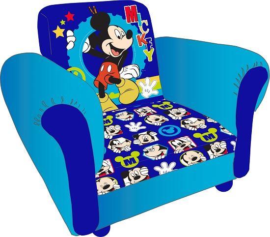 disney enfants mickey mouse cartoon enfants fauteuil rembourre - Fauteuil Mickey