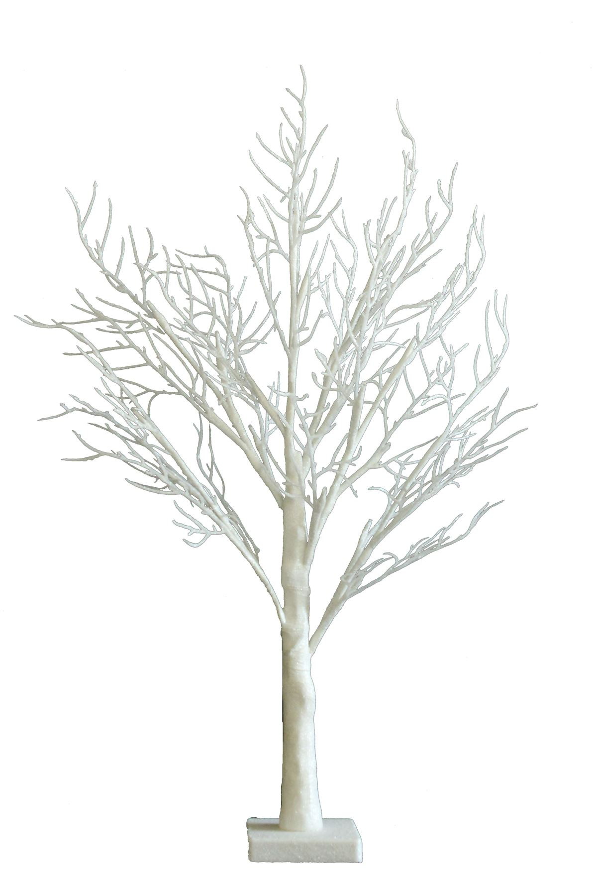 2ft xmas    easter    baby shower twig table tree warm white pre