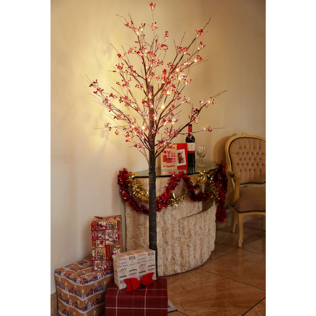 4 Ft Prelit Christmas Trees
