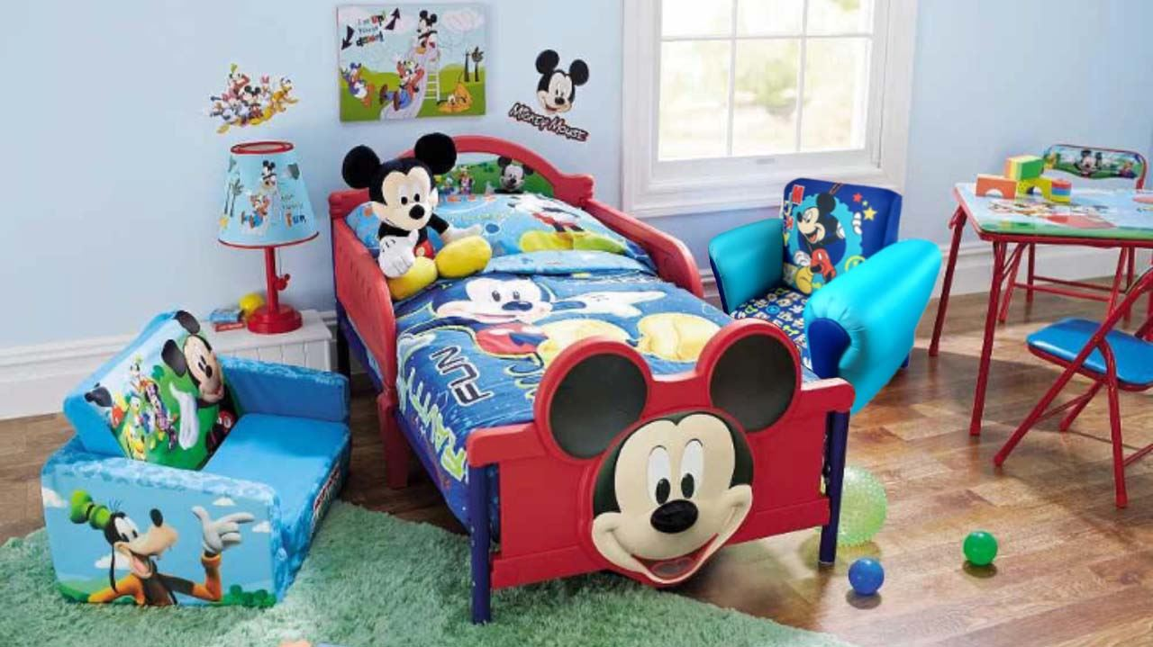 childrens mickey mouse cartoon kids armchair childs. Black Bedroom Furniture Sets. Home Design Ideas