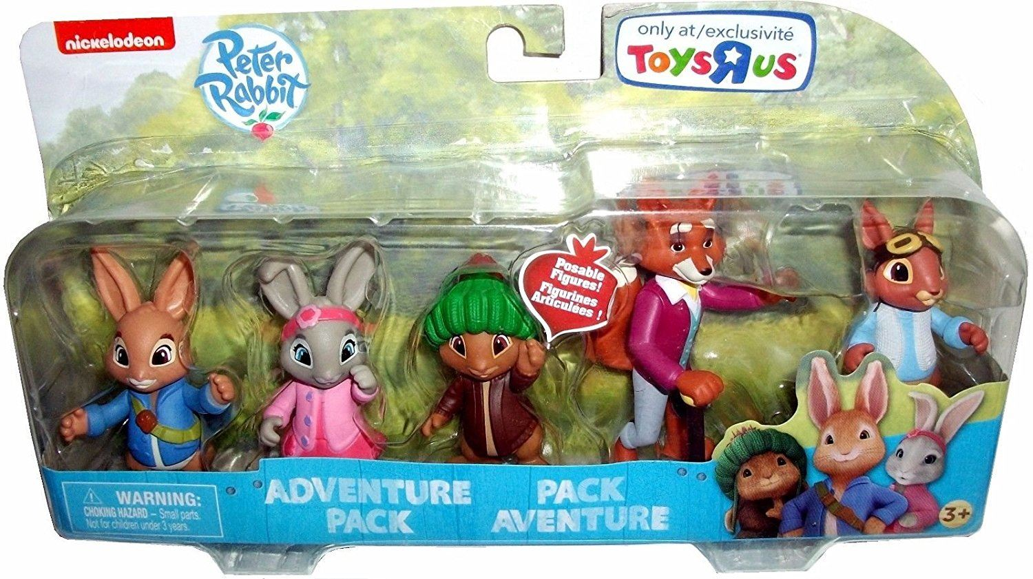 Peter Rabbit & Friends Figures Adventure Set With Posable Arms Nick ...