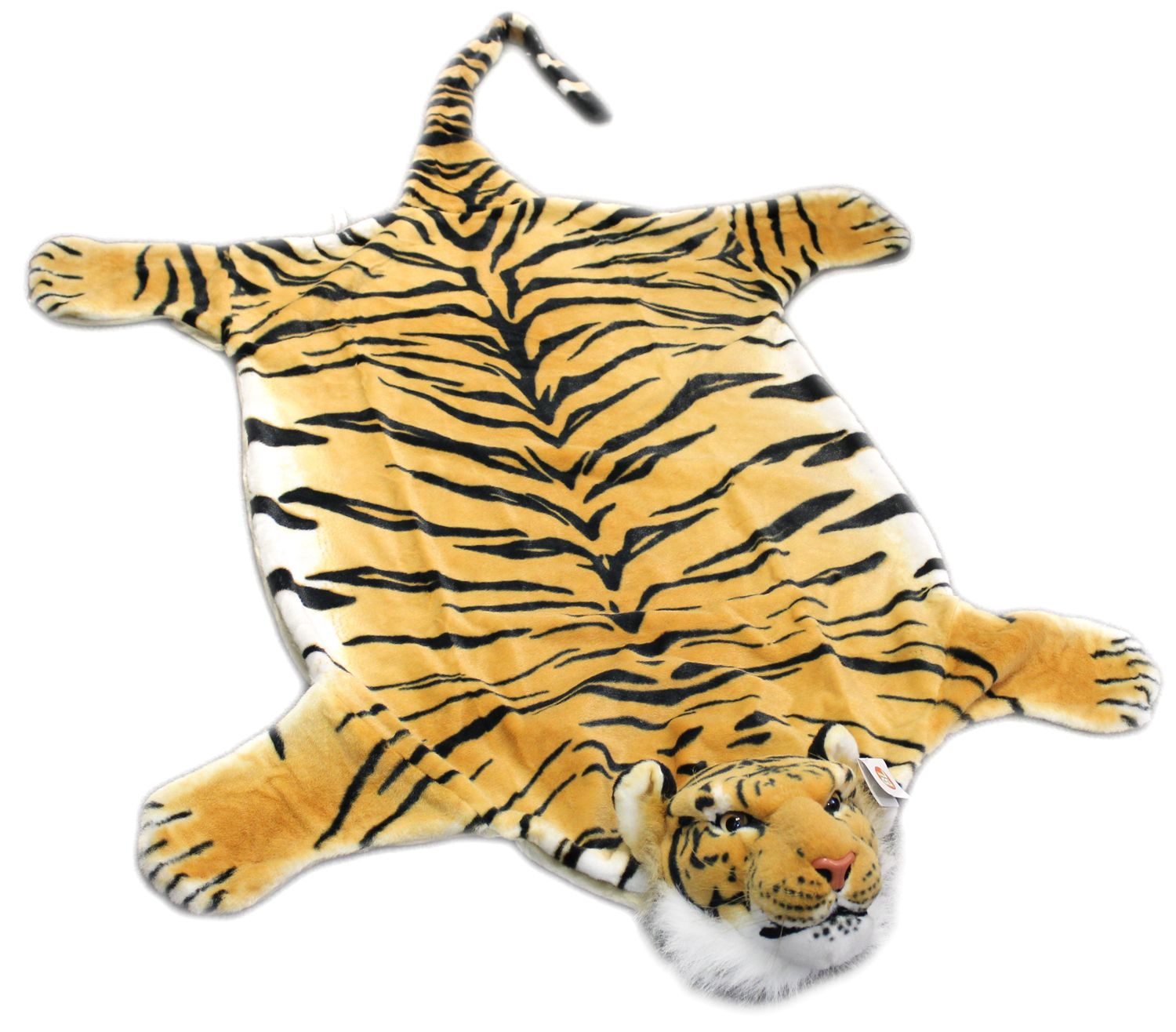 "Fake Fur ZEBRA plush skin zebraskin striped RUG KING LARGE SIZE 88,5/"" 59/"" in new"