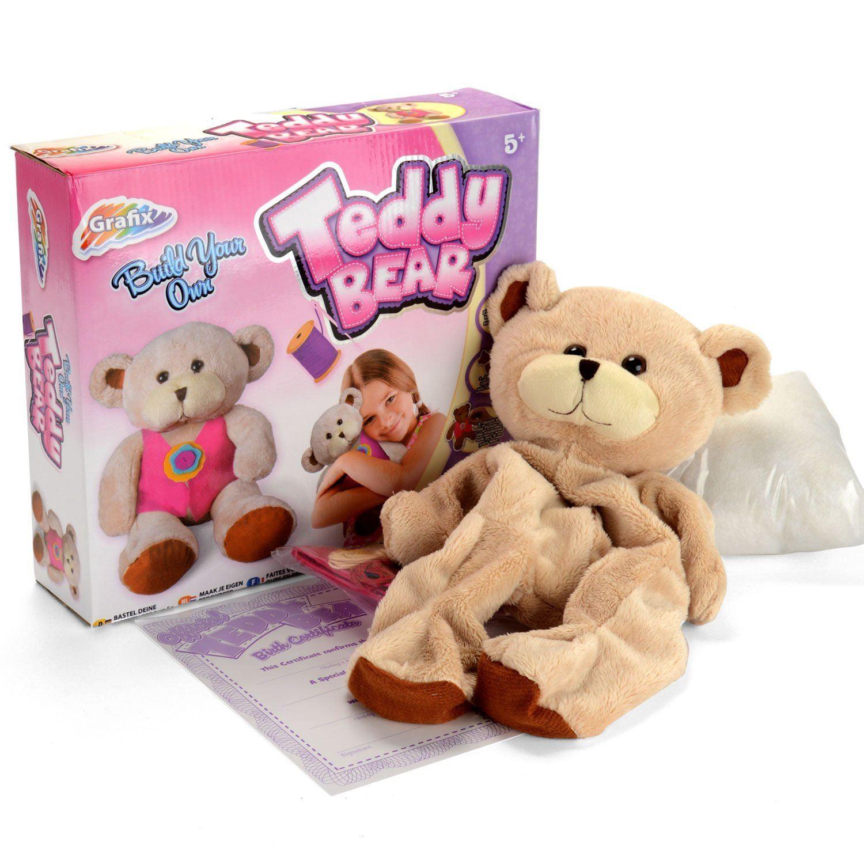 77a4837f673 Grafix Build Your Own Teddy Bear Kit 5015934031889