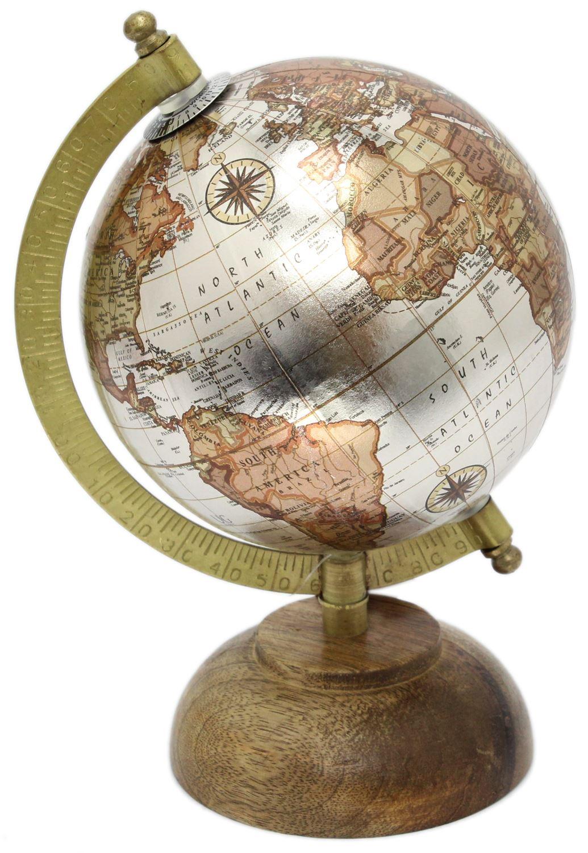 20cm decorative metallic rotating world map ornamental globe on 20cm decorative metallic rotating world map ornamental globe gumiabroncs Gallery