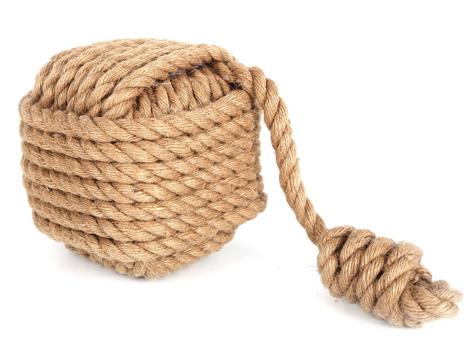 ... Fist Style Rope Ball Will Keep Doors Open To Allow A Breeze Through  Your Home, Or Prevent Doors Slamming. It Can Also Double Up As A Bookend Or  Even A ...