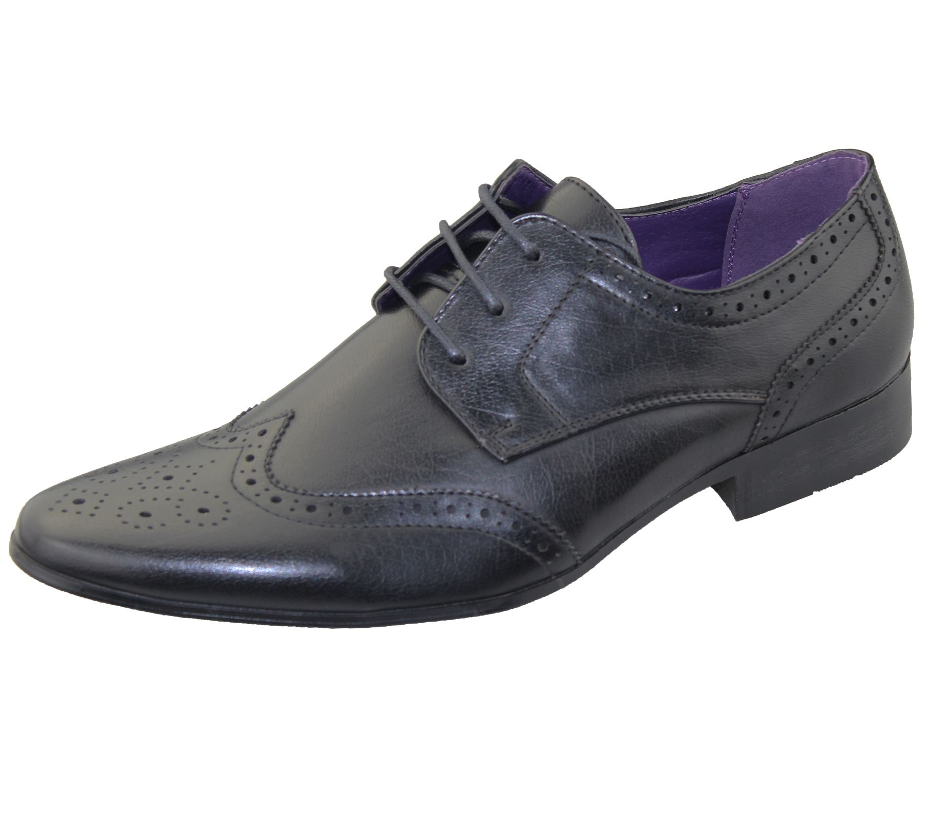 Mens Office Brogues Shoes Wedding Casual Formal Smart Dress Shoes New Size