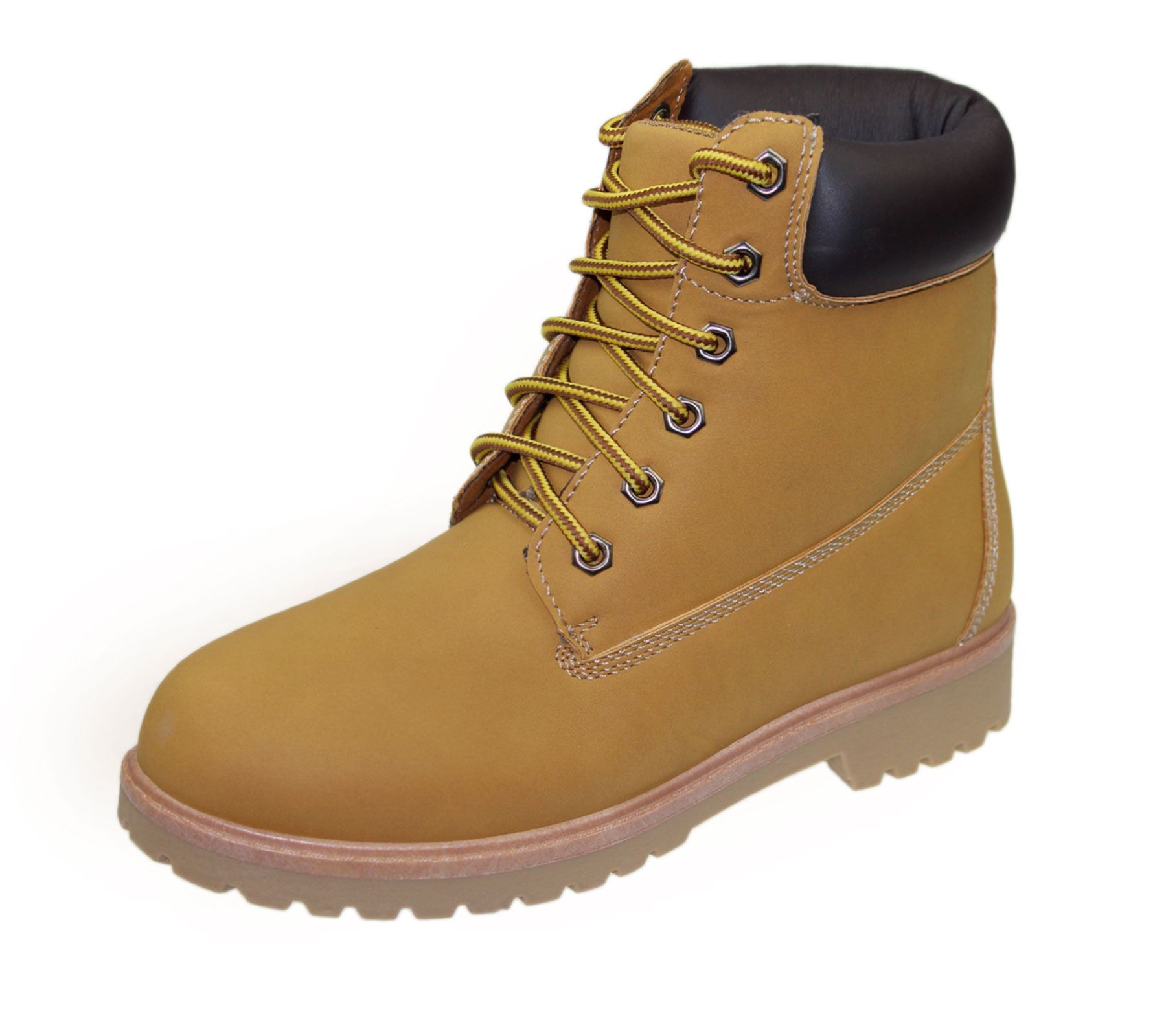 Womens High Top Boots Hiking Desert Trail Combat Ladies Ankle Work ... 020a6df08a