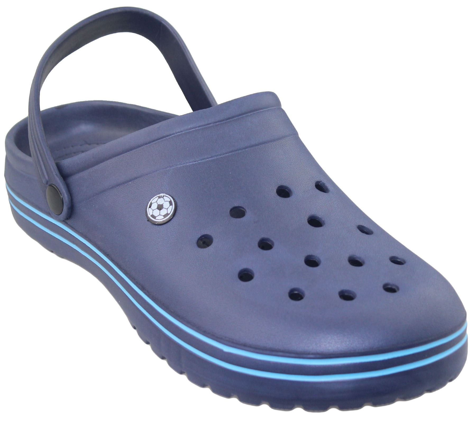 Dettagli su Uomo Zoccoli Casual Pantofola PU Sabot