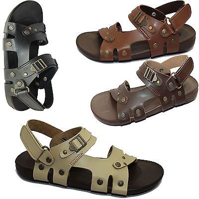 Boys-Sandals-Casual-Flip-Flop-Comfort-Walking-Summer-Beach-Fashion-Slipper thumbnail 5