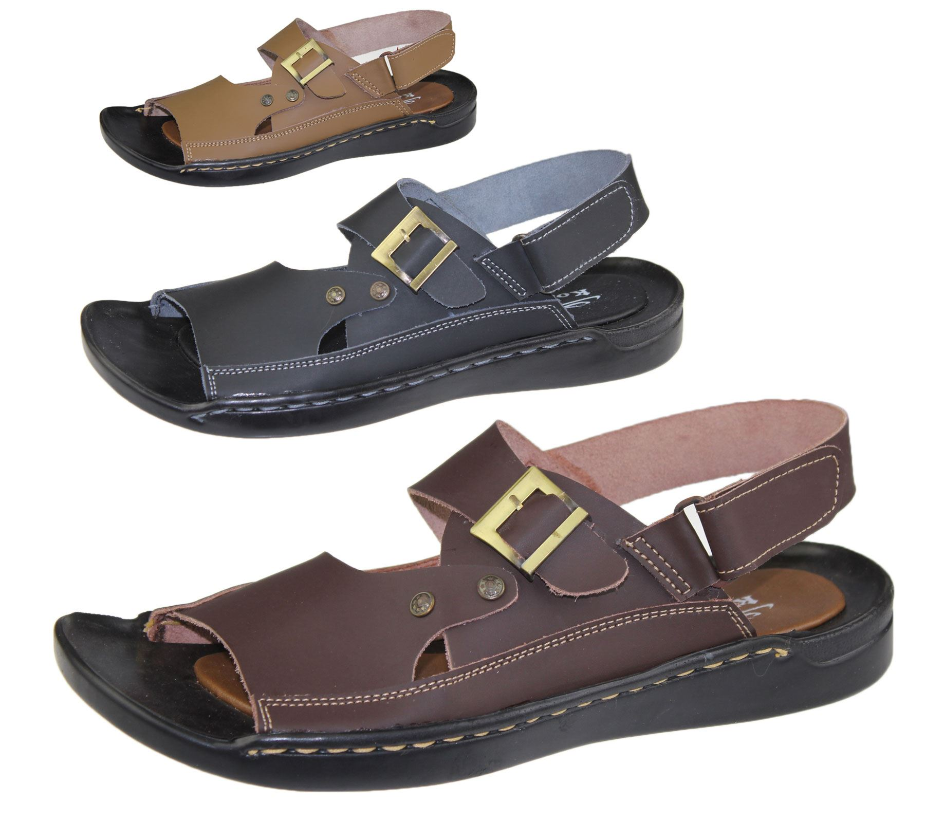 MEN New Easy Fastening Air Foot Comfort Beach//Holiday Sandal UK Size 6-11