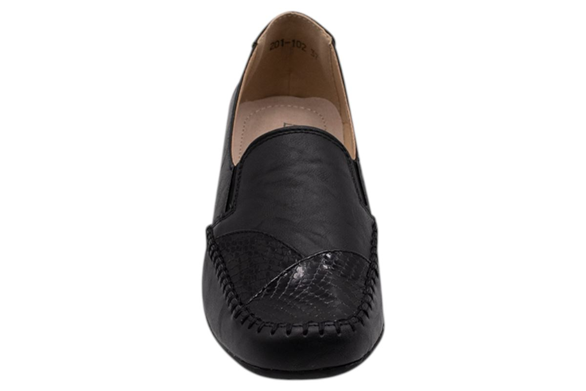 Womens-Flat-Shoes-Ladies-Pumps-Office-Work-Casual-Slip-On-Loafer-Size thumbnail 25
