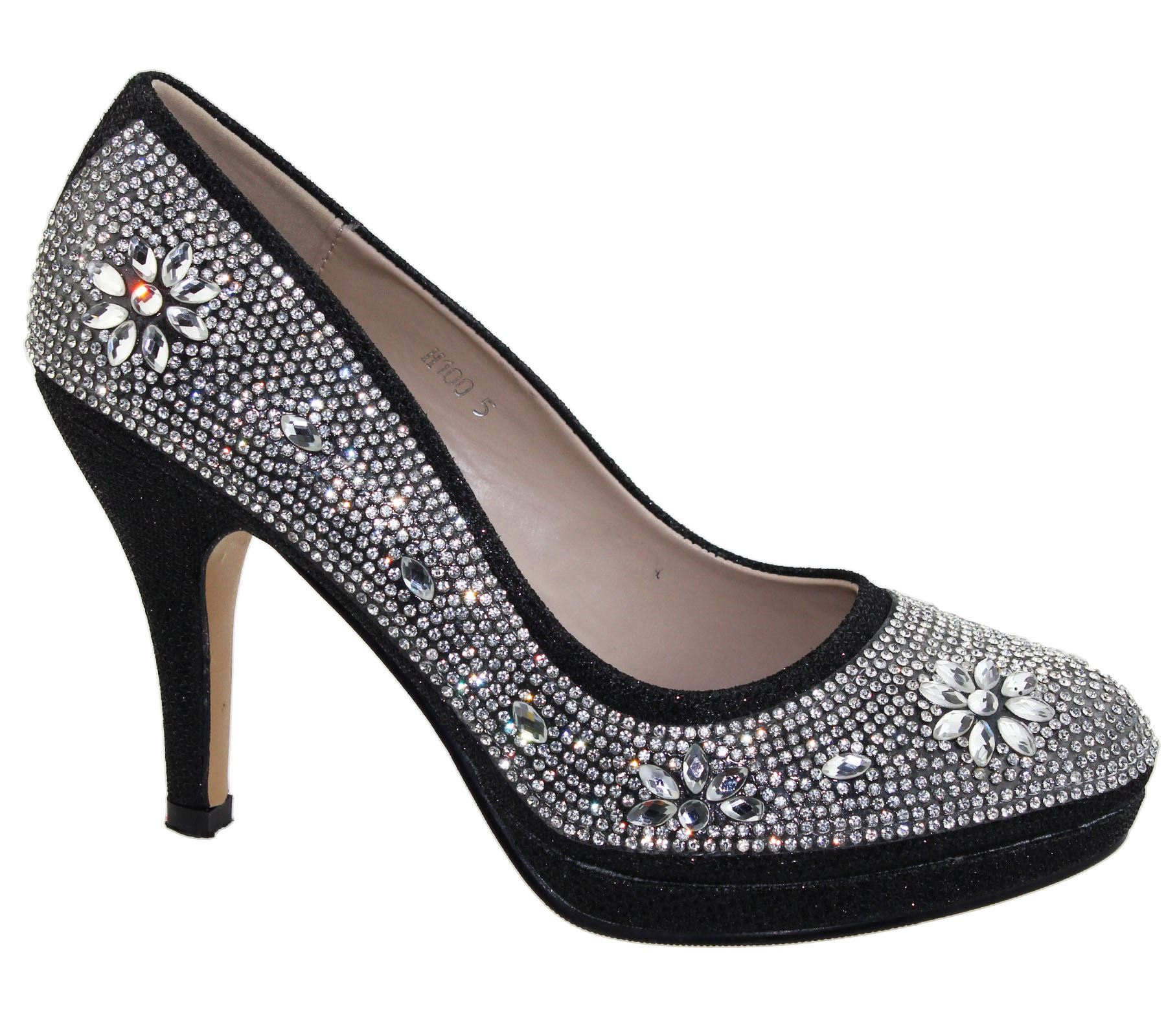 Wedding High Heels Sandals: Womens Platforms High Heels Wedding Bridal Evening