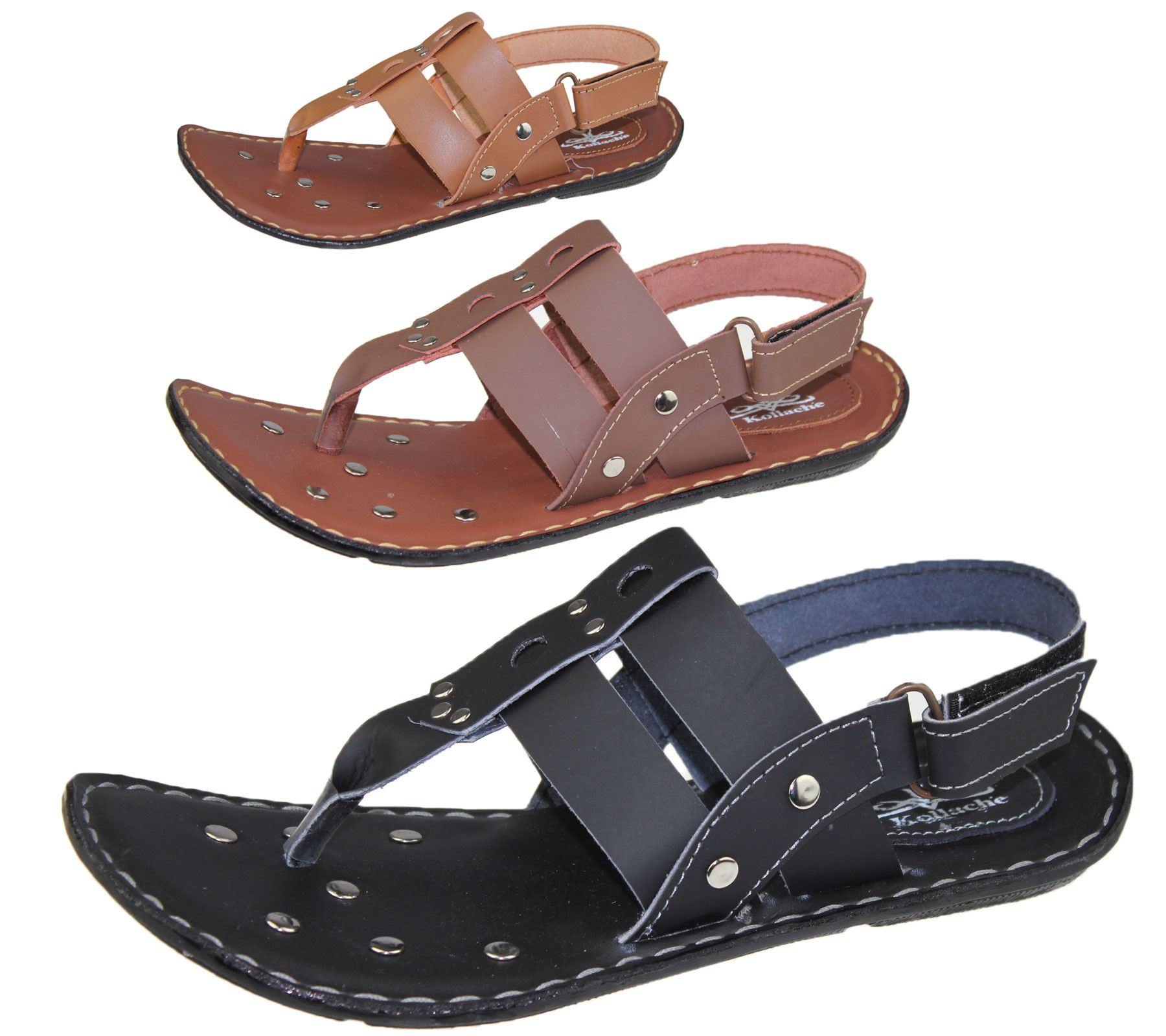 7517a9f54 Fastening  Velcro Material  Synthetic From Kollache come these fabulous  studded display sandals to add a glamorous sparkle to your summer shoe  collection.