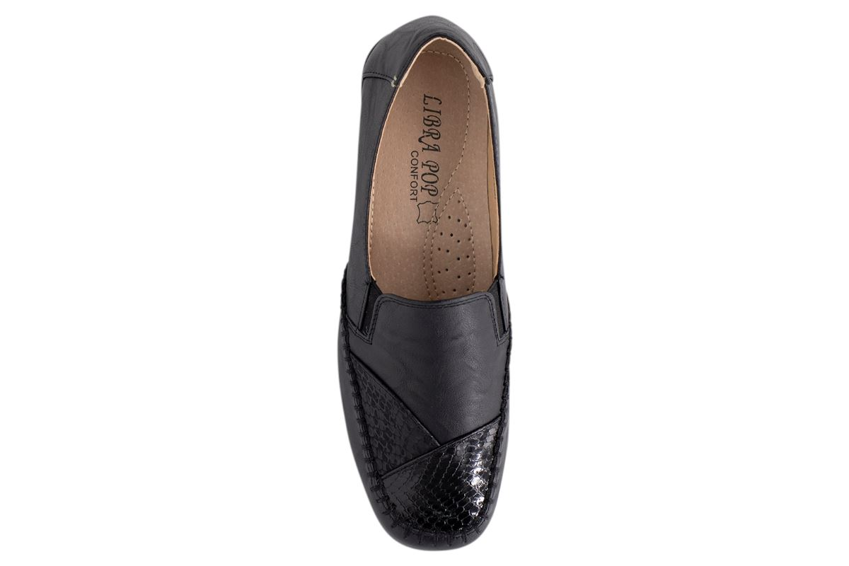 Womens-Flat-Shoes-Ladies-Pumps-Office-Work-Casual-Slip-On-Loafer-Size thumbnail 8