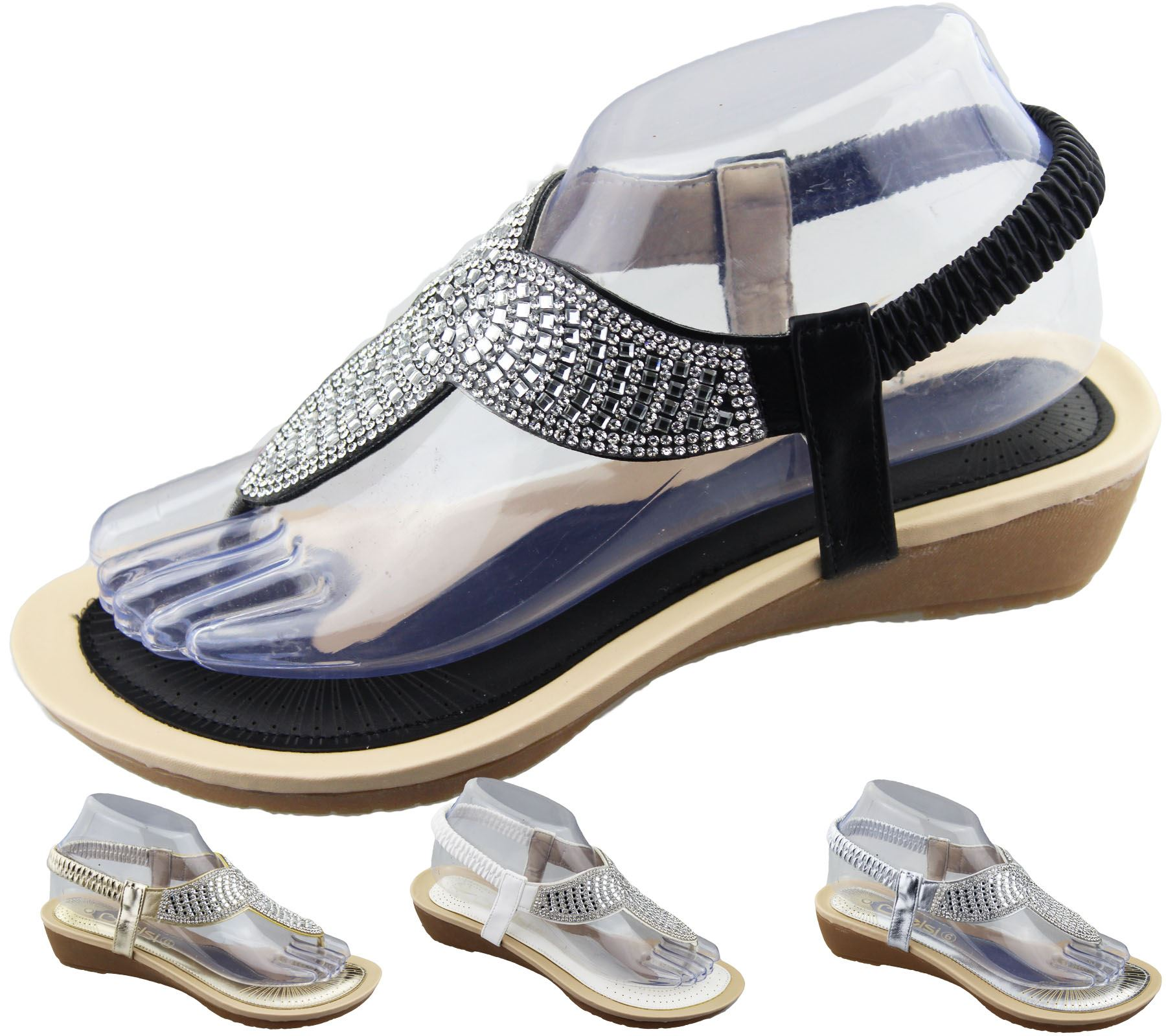 FOOTWEAR - Toe post sandals Sandalia COJblFeu