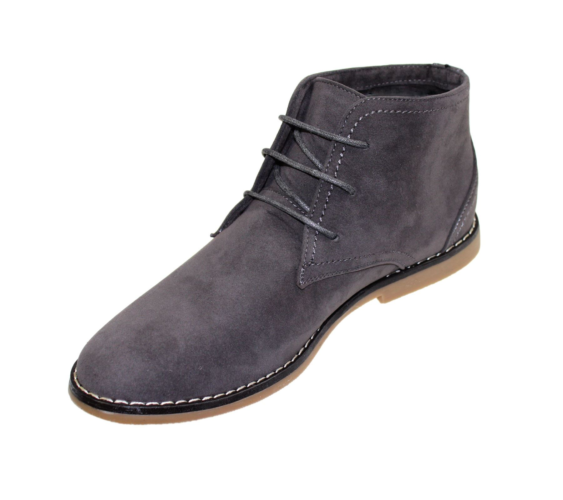 Up Boots Synthetic Lace Casual Desert Ankle Winter Suede Mens xTWnwOO