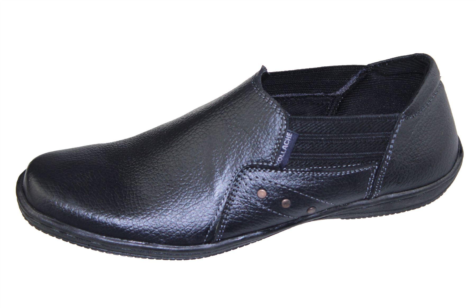 Mens Slip on Walking Boat Deck Mocassin Comfort Loafers Driving ... ef01fd5843b