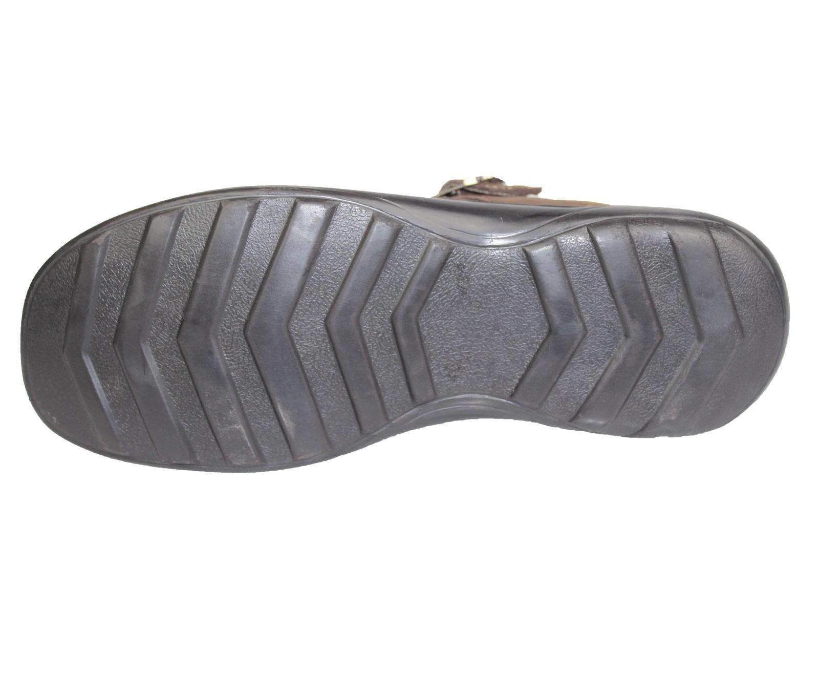 Mens-Buckle-Fastening-Sandals-Flat-Beach-Walking-Fashion-Casual-Summer-Slipper miniatura 15