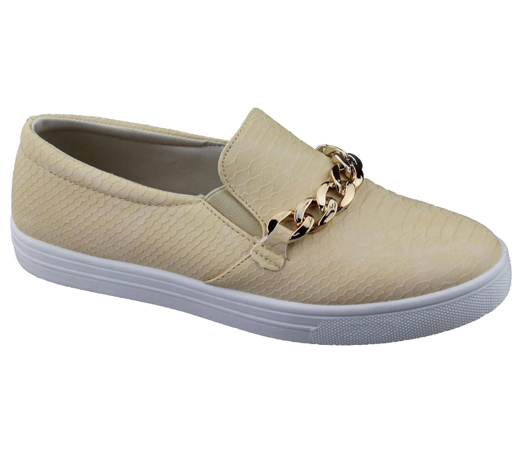 Grey Slip On Shoes For Women With Bow