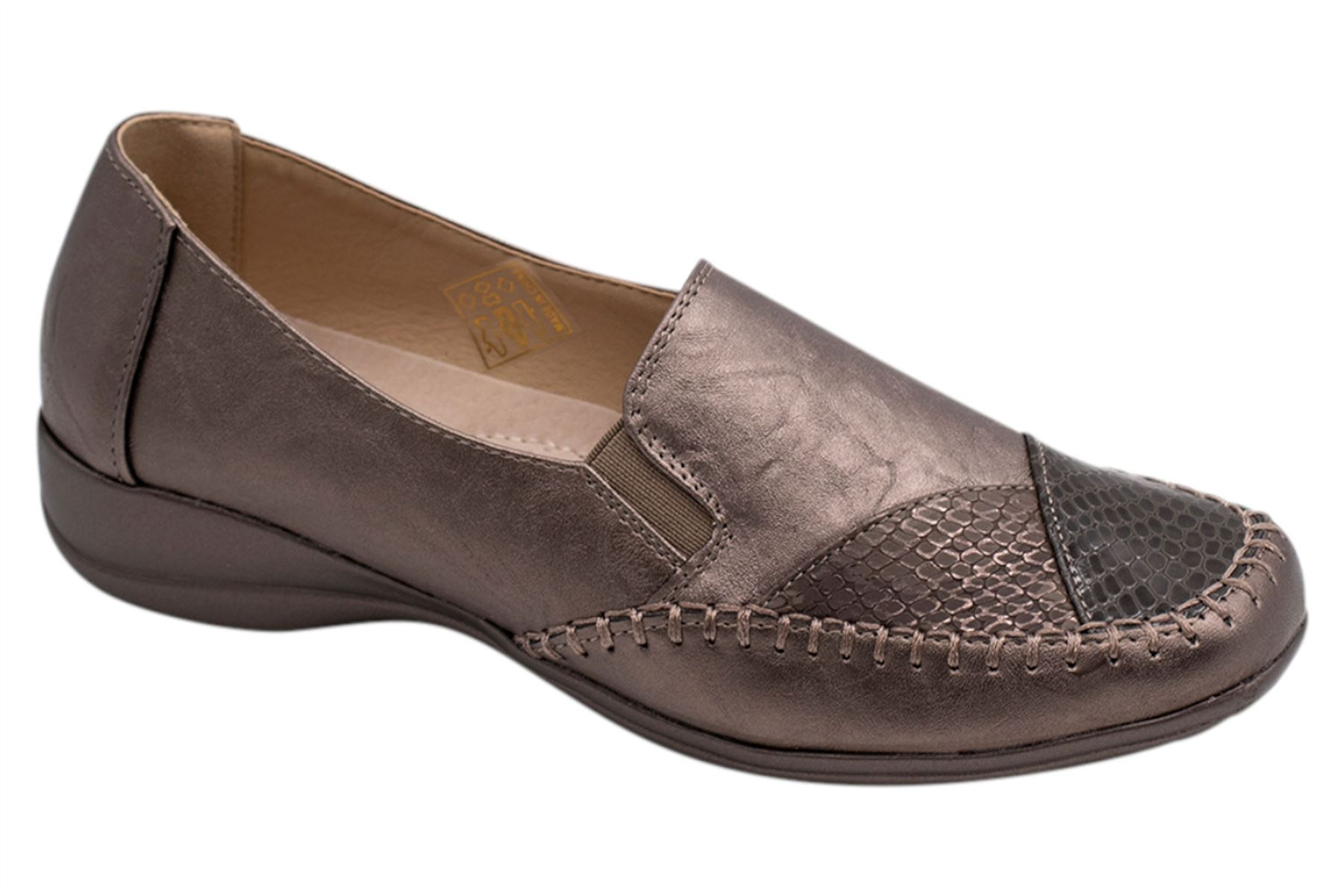 Womens-Flat-Shoes-Ladies-Pumps-Office-Work-Casual-Slip-On-Loafer-Size thumbnail 23