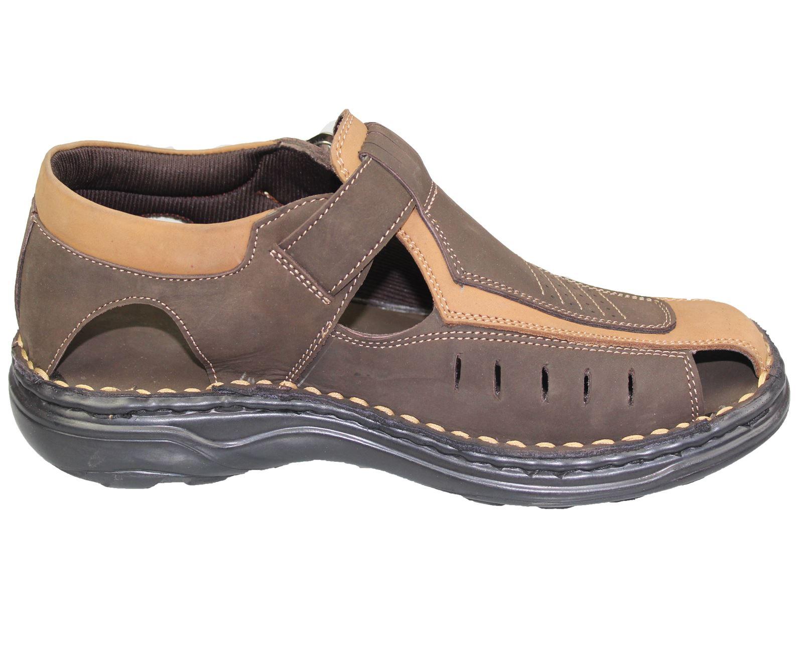 Mens-Buckle-Fastening-Sandals-Flat-Beach-Walking-Fashion-Casual-Summer-Slipper miniatura 10