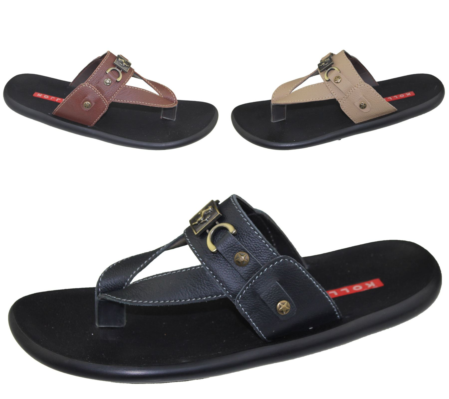c7a2c8776 Mens Slip On Slippers Beach Walking Summer Casual Fashion Flip Flop Sandal  Shoes