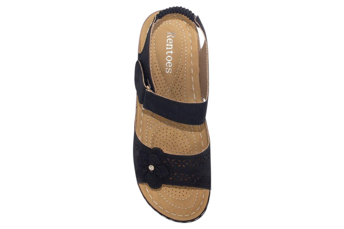 Ladies-Sandals-Womens-Mid-Heel-Comfort-Summer-Beach-Casual-Wear miniatura 43