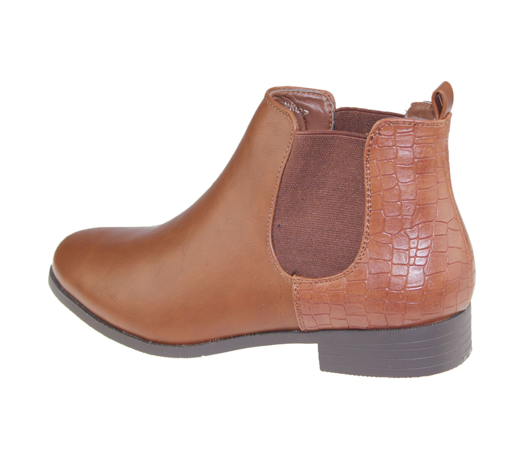 Womens-Ankle-Boots-Ladies-Chelsea-High-Top-Casual-Riding-Elasticated-Shoes-Size thumbnail 4