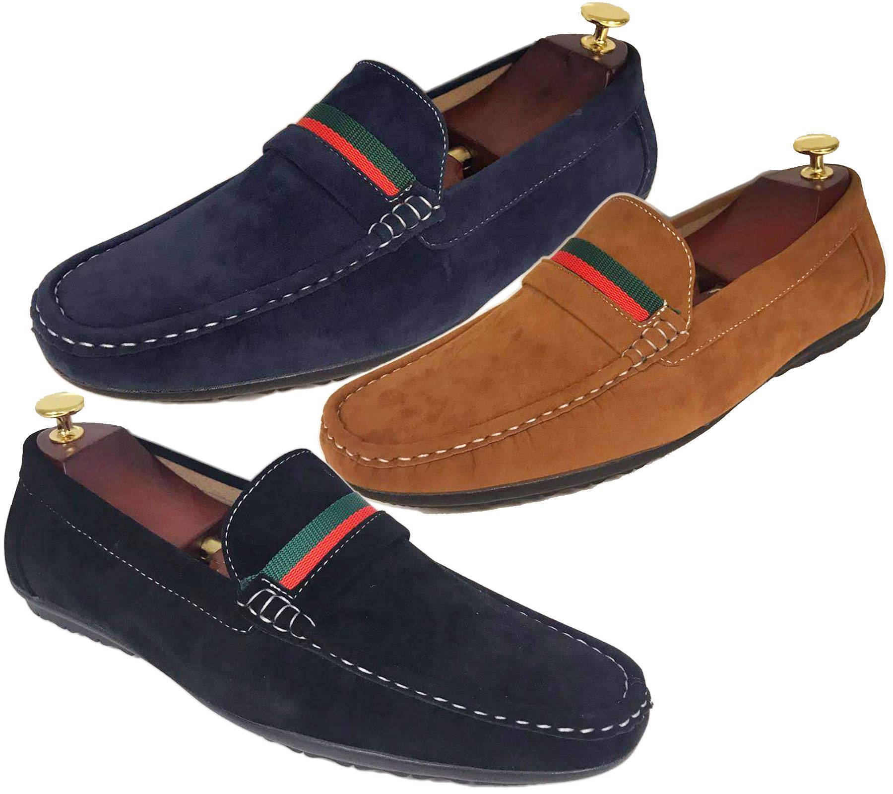 Mens Loafers Mocassin Boat Deck Shoes Flat Slip On Driving Casual Smart  Pumps | eBay