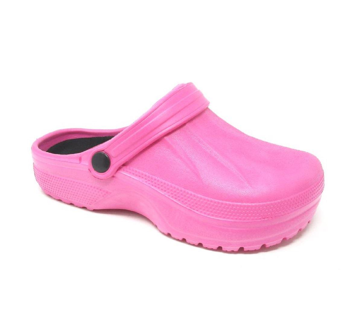 Womens-Clogs-Mules-Slipper-Nursing-Garden-Beach-Sandals-Hospital-Rubber-Shoes miniatura 13