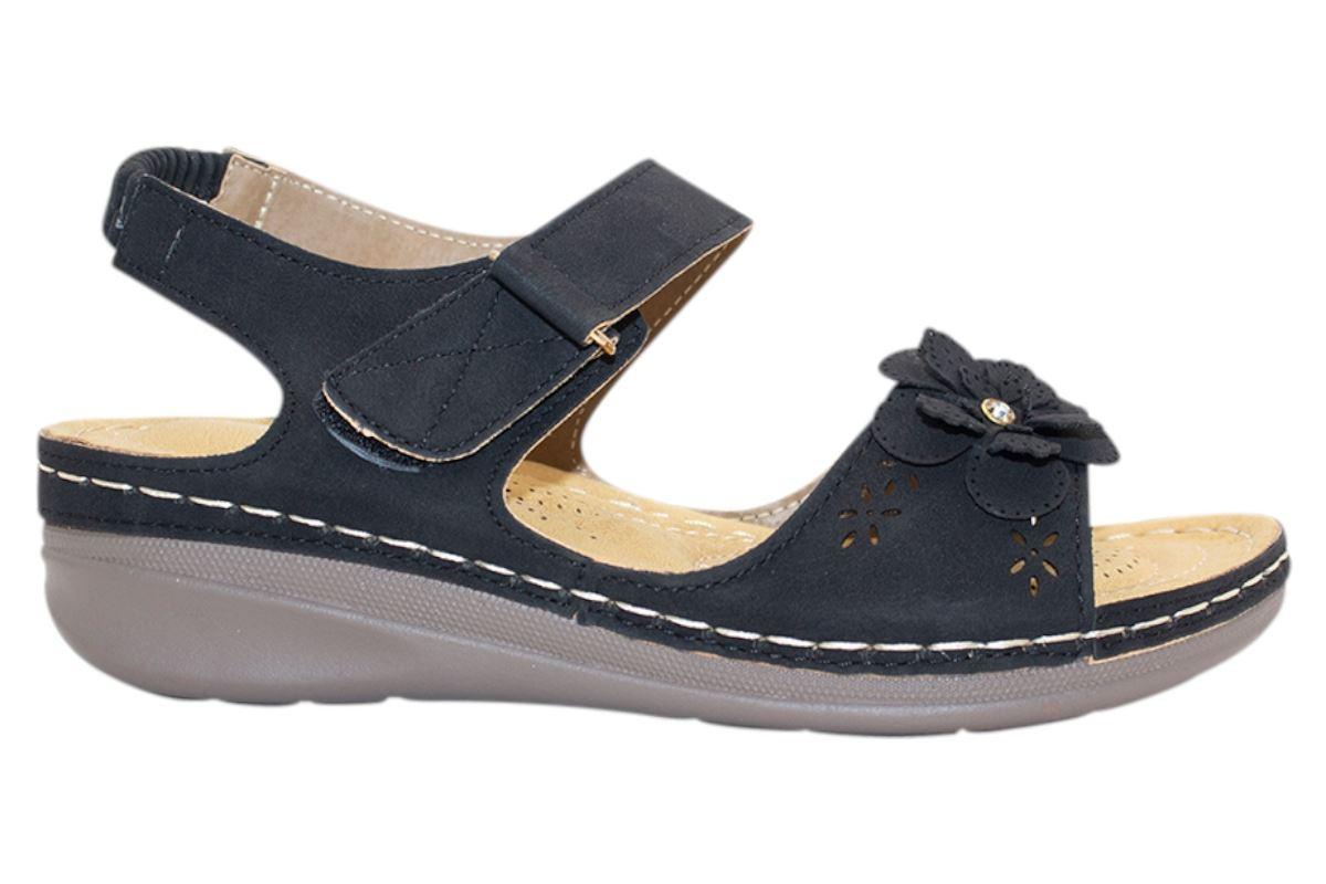 Ladies-Sandals-Womens-Mid-Heel-Comfort-Summer-Beach-Casual-Wear miniatura 37