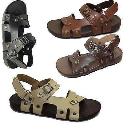 Boys-Sandals-Casual-Flip-Flop-Comfort-Walking-Summer-Beach-Fashion-Slipper thumbnail 3