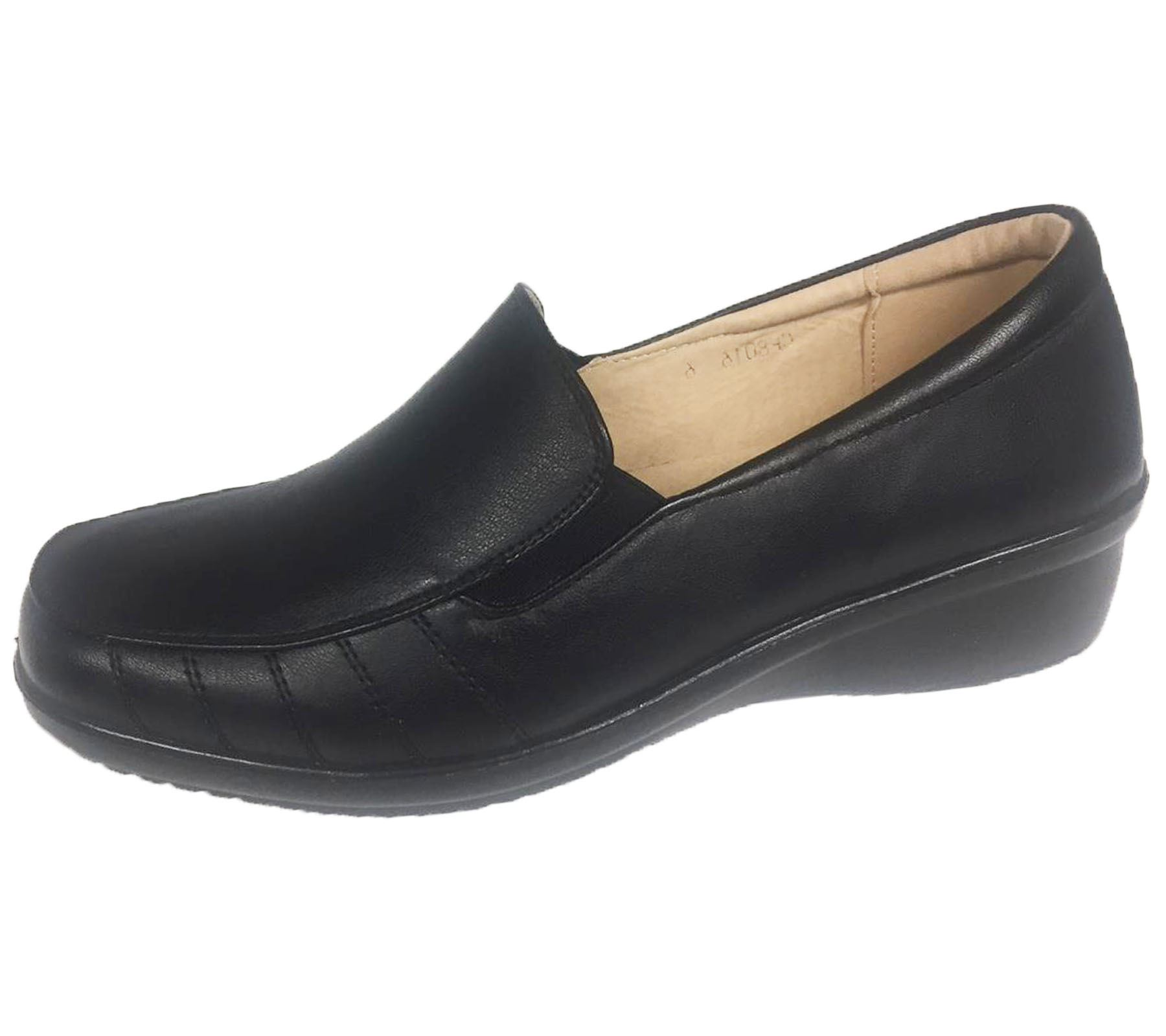 Ladies-Loafer-Moccasin-Womens-Casual-Comfort-Walk-Pumps-Slip-On-Shoes thumbnail 3