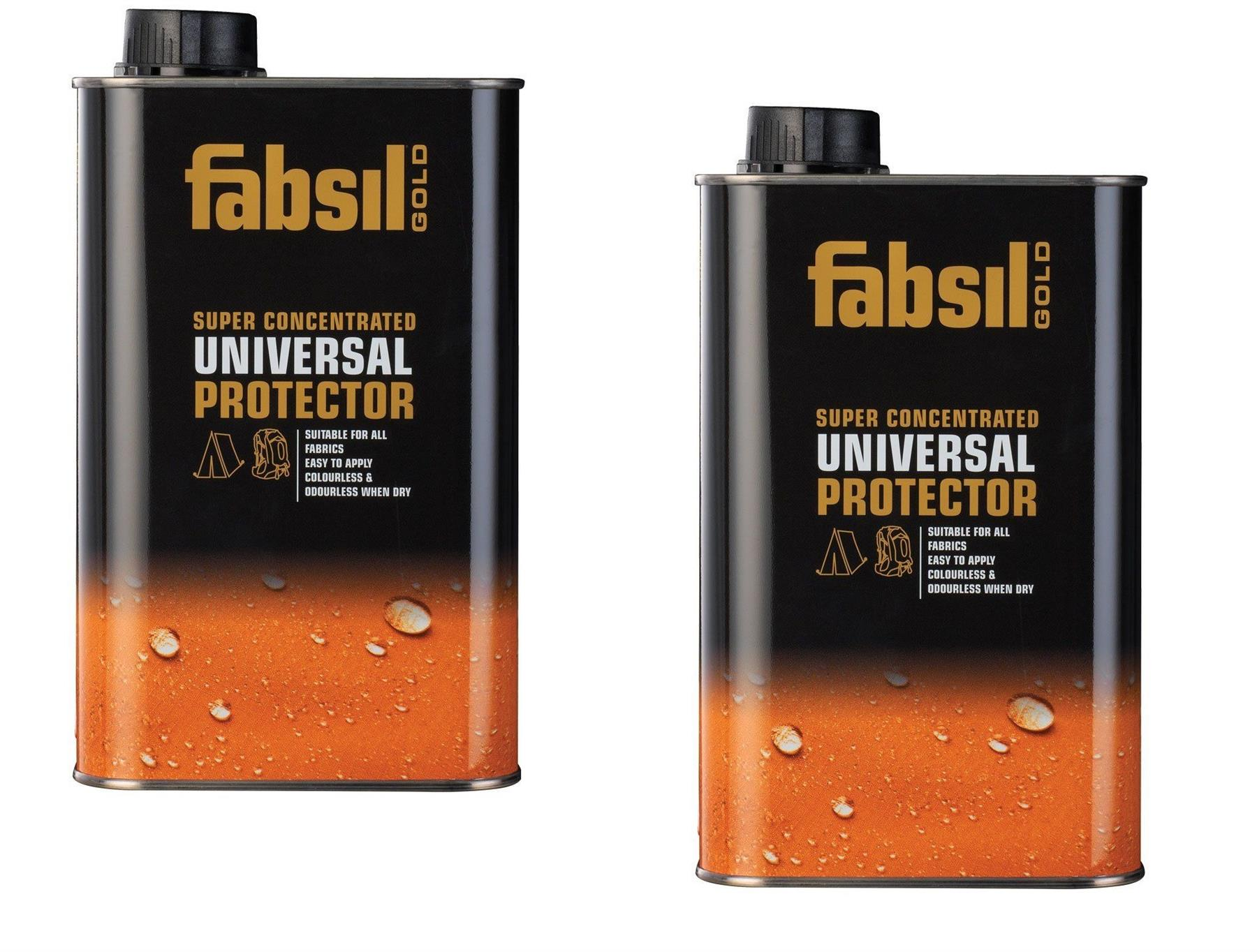 2x Fabsil 1 Litre-Universal Waterproofing Sealant Tent ...