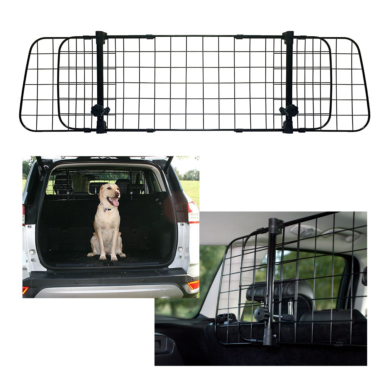MITSUBISHI MIRAGE 13 TUBULAR DOG PET GUARD BARRIER CAR ANIMAL HEAVY DUTY
